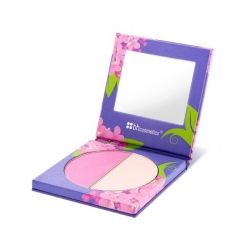 BH Cosmetics - Floral Blush Duo Collection - tvářenka odstín Lilac