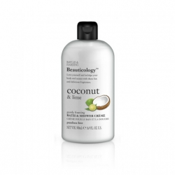 Beauticology - Bath & Shower Crème Coconut & Lime - sprchový krém kokos a limetka