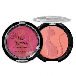 J.Cat Beauty - Love Struck - tvářenka + bronzer