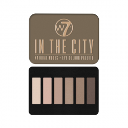 W7 IN THE CITY - paleta očních stínů