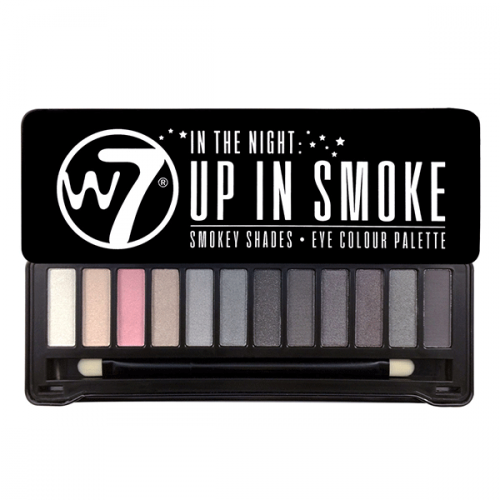 W7 UP IN SMOKE - paleta očních stínů