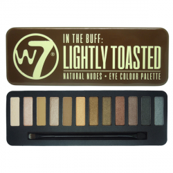 W7 LIGHTY TOASTED - paleta očních stínů